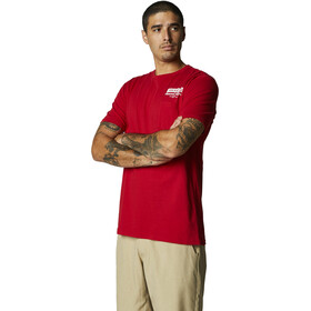 Fox Cast Away Pocket Premium Maglietta a Maniche Corte Uomo, rosso